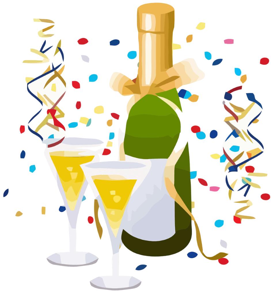 Champagne et confettis pour l'ouverture de la boutique Pamalussi.