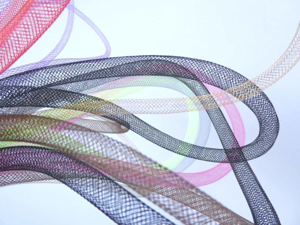 Plusieurs diamètres et coloris de la résille tubulaire.