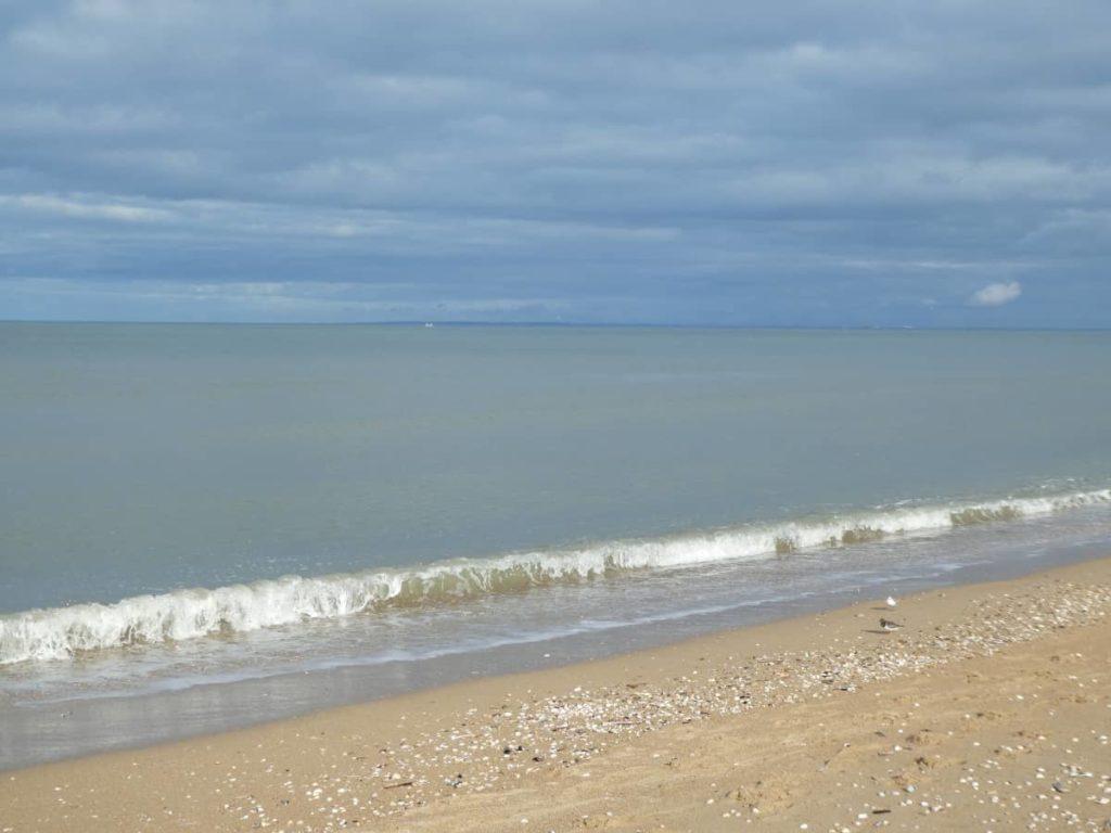 Un petit tour à la mer pour prendre l'air.