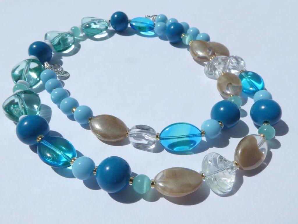 Inspiration nature pour le collier Ecalgrain.